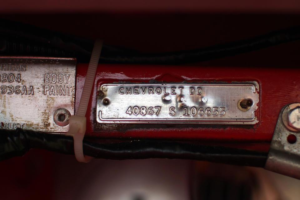 <b>1964 Chevrolet Corvette 327/360HP Roadster</b><br />Chassis no. 40867S106655