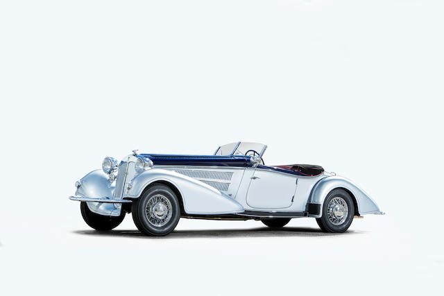 <b>1936 Horch 853 Roadster</b><br />Chassis no. 853268