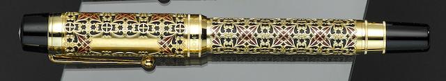 MONTBLANC: Semiramis Patron of Art Limited Edition 4810 Fountain Pen