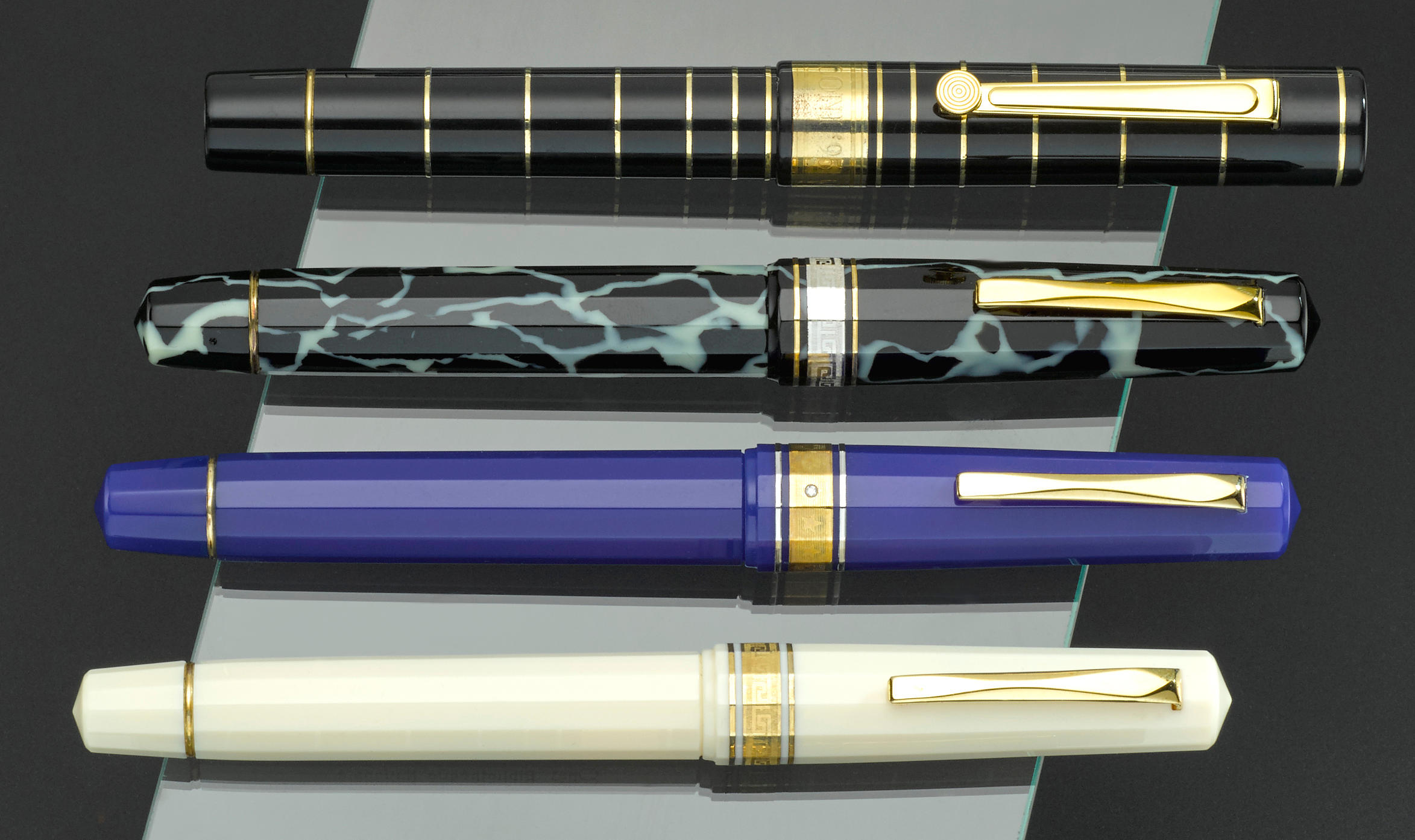 OMAS: Lot of Four Limited Edition Fountain Pens