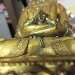 A gilt bronze figure of Amitayus Tibet, circa 16th century
