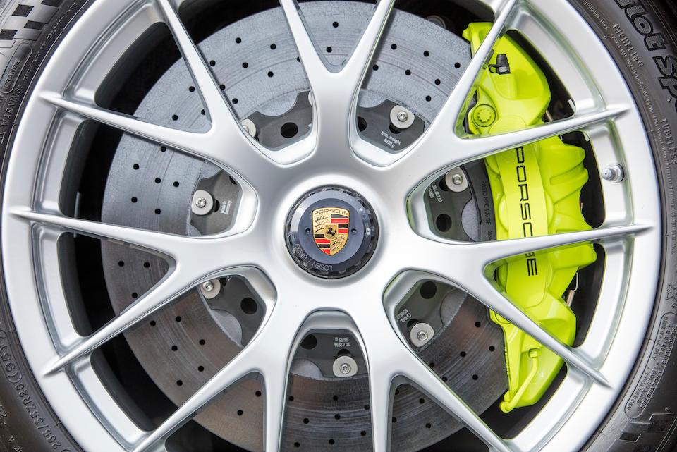 <b>2015 Porsche 918 Spyder</b><br />VIN. WPOCA2A19FS800290