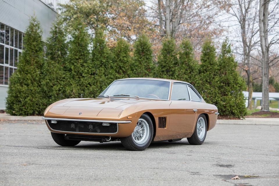 <b>1968 Lamborghini Islero 400 GT</b><br />Chassis no. 6012<br />Engine no. 1848