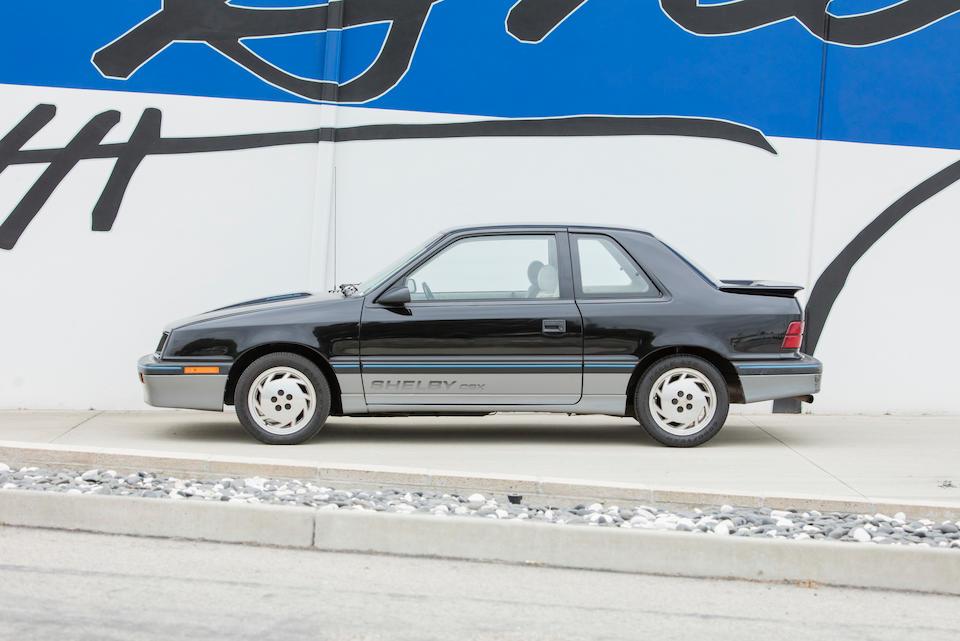 <b>1987 Dodge CSX</b><br />VIN. 1B3B544F2HN513458