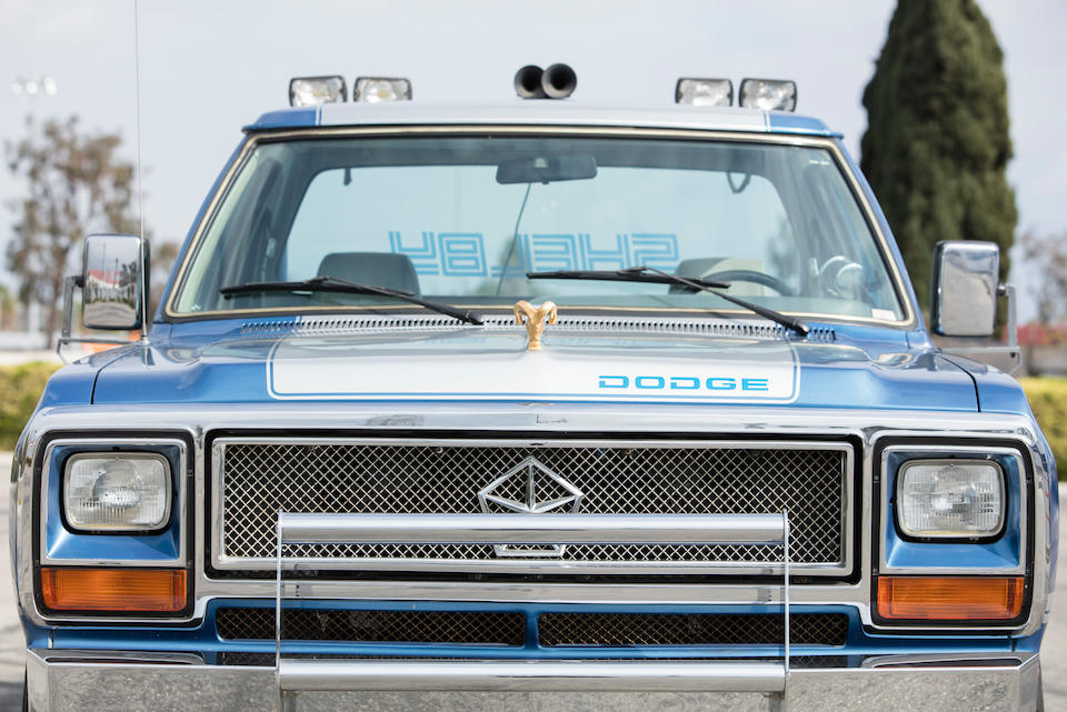 <b>1983 Dodge Shelby Ram Prototype</b><br />VIN. 1B7FD14T9DS492434