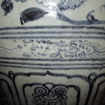 A rare massive blue and white storage jar Le dynasty, 15th/16th century