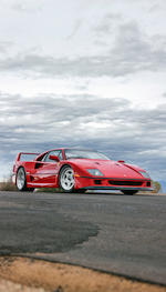 <b>1991 Ferrari F40</b><br />VIN. ZFFMN34A8M0088374<br />Engine no. 26308