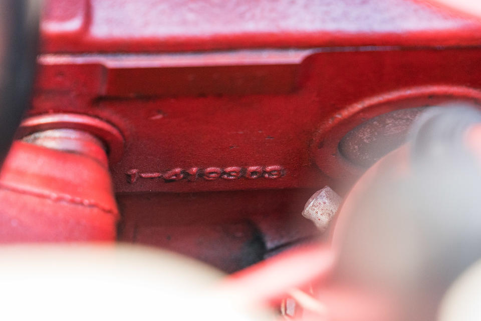 <B>1969 Volvo P1800S</B><br />Chassis no. 183451029471<br />Engine no. 1197