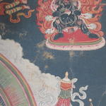 A thangka of Tsongkhapa emanating from Maitreya Central Tibet, 19th century