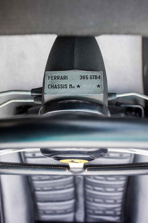 <b>1972 Ferrari 365 GTS/4 Daytona Spider</b><br />Chassis no. 16473<br />Engine no. B2332