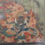 A thangka of Aryadeva Tibet, 18th century