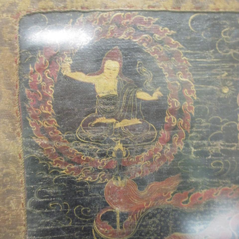 A Thangka of Maning Mahakala Tibet, circa 18th century