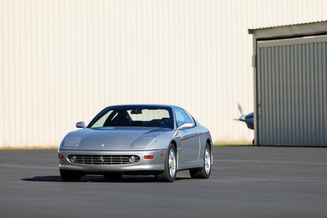 <b>2003 Ferrari 456M GTA</b><br />VIN. ZFFWL50A830132002