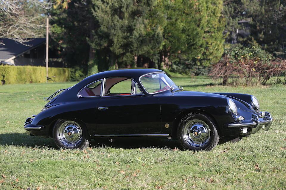<B>1960 Porsche 356B 1600 Super Coupe</B><br />Chassis no. 110431<br />Engine no. 85748