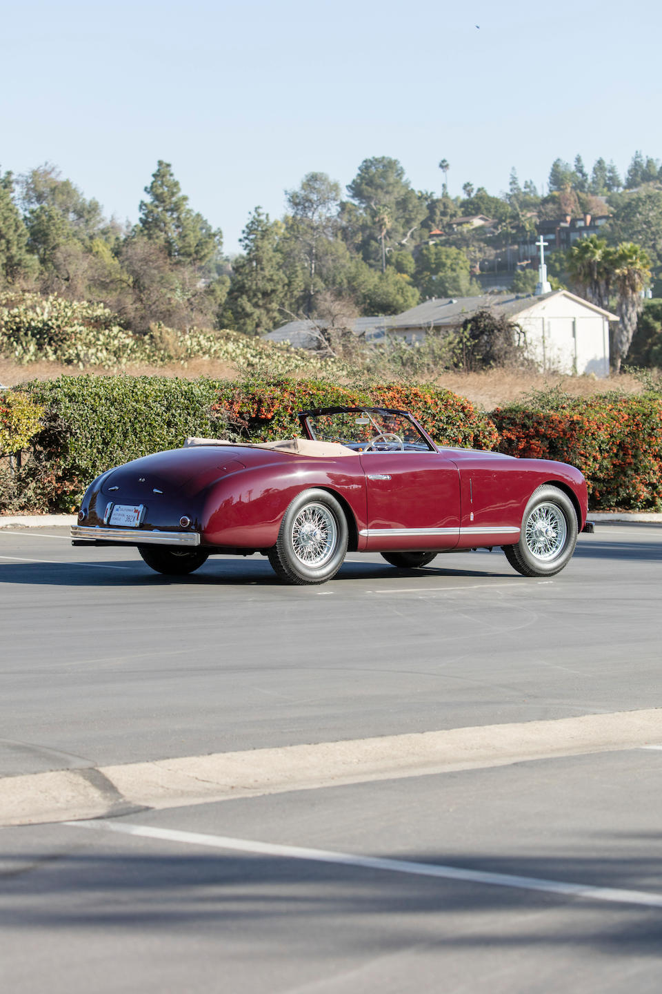 <b>1951 Alfa Romeo 6C 2500 Super Sport Cabriolet</b><br />Chassis no. 915922<br />Engine no. 928329