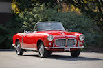<B>1959 Fiat 1200 TV Trasformabile</B><br />Chassis no. 103G115004252