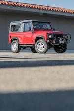 <B>1995 Land Rover Defender 90 Hard Top</B><br />VIN. SALDV2285SA962124