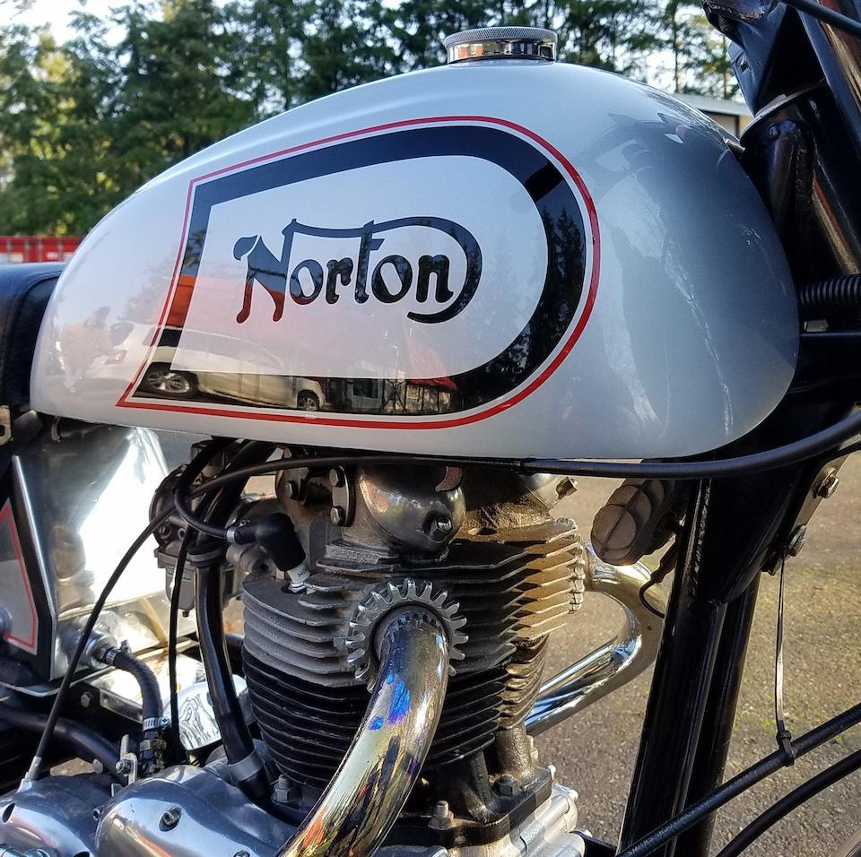 1960 Norton 750cc Dominator Café Special Frame no. 125885 Engine no. 101706
