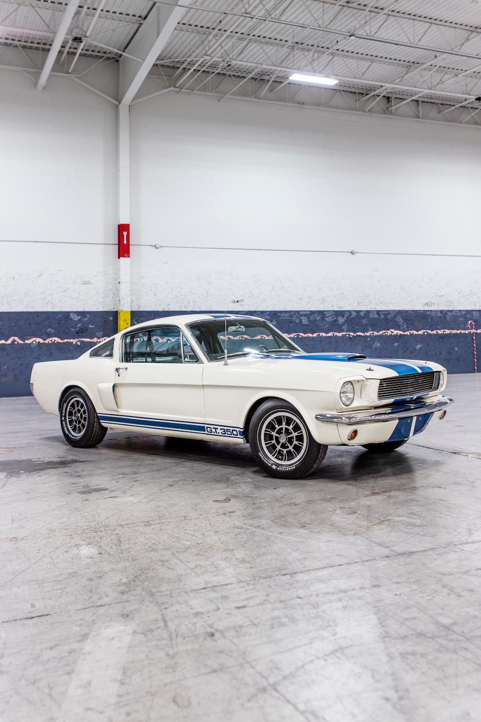 <b>1966 SHELBY GT350H FASTBACK</b><br />Chassis no. SFM6S707