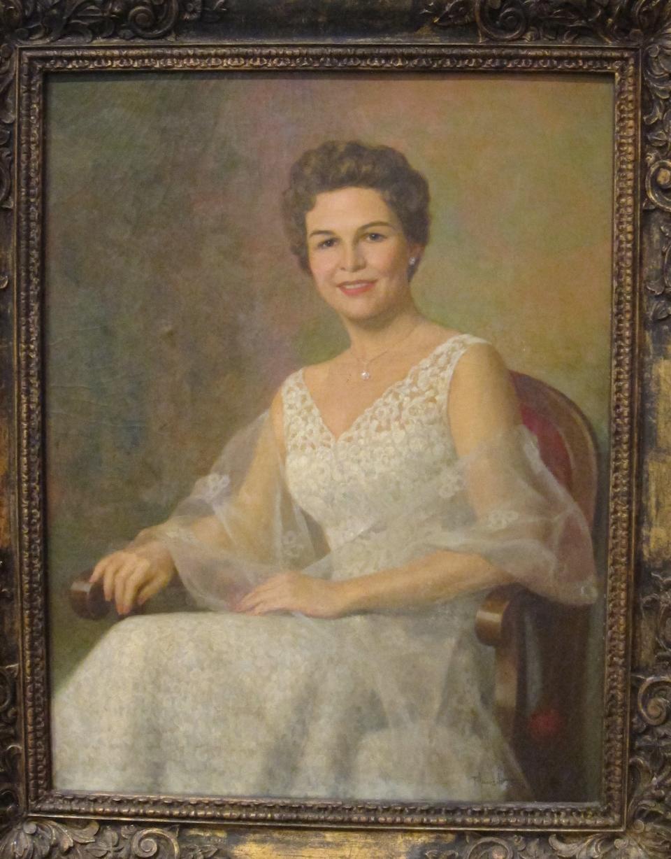 Fernando Amorsolo Y Cueto (Philippines, 1892-1972) Christina De la Riva Knecht, 1958