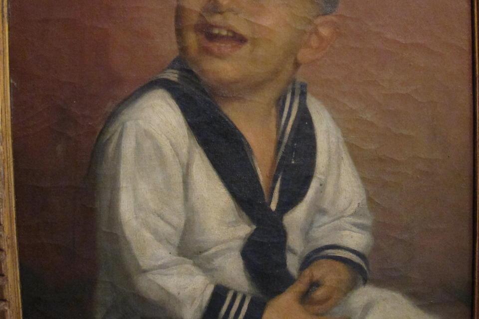 Fernando Amorsolo Y Cueto (Philippines, 1892-1972) Rene Knecht, 1944