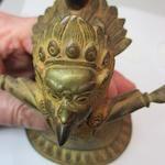 A copper alloy figure of Garuda  Nepal, 19th century