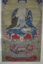 Anonymous (17th/18th century) A Large Painting of Vairocana