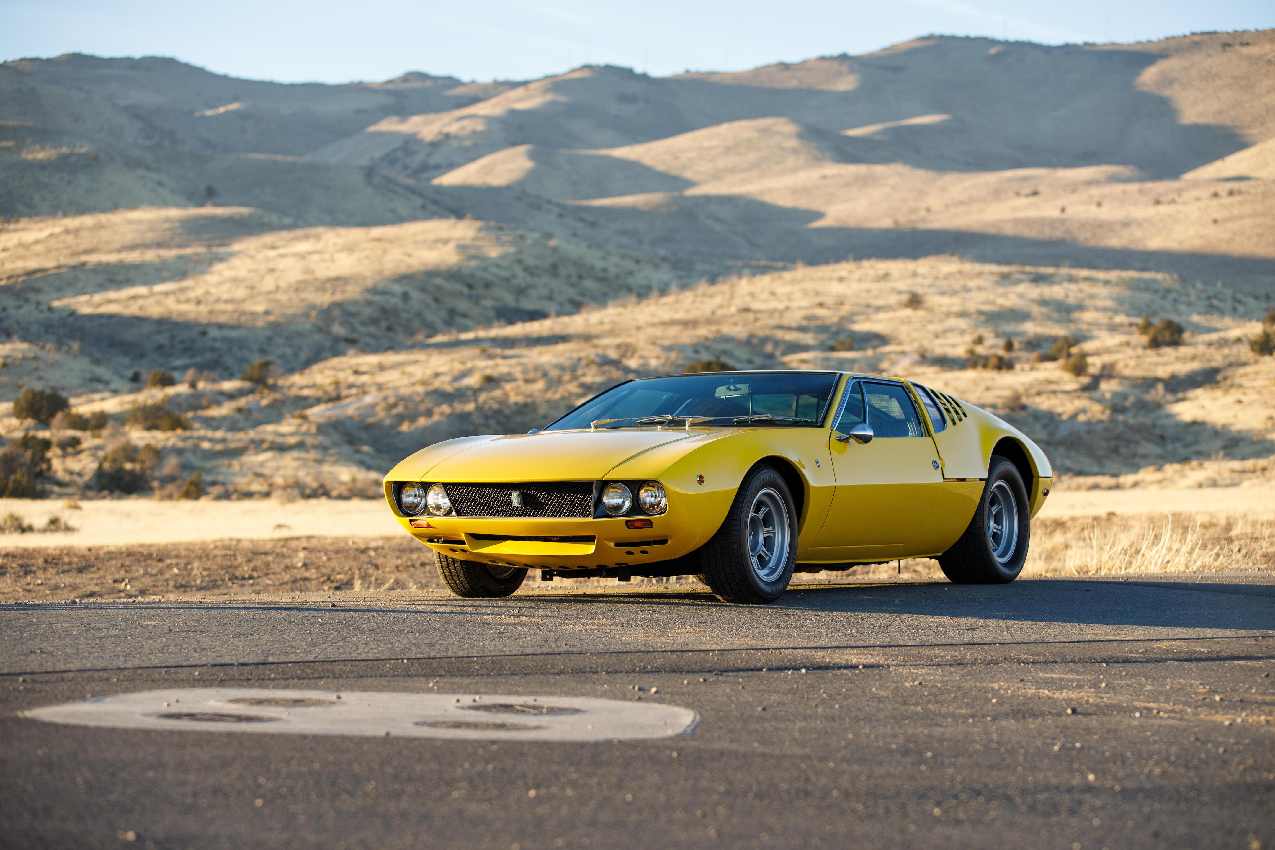 1969 DE TOMASO MANGUSTA Coachwork by Ghia Design by Giugiaro Chassis no...