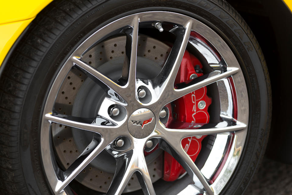 <b>2009 Chevrolet Corvette Z06 GT1 Championship Special Edition</b><br />VIN. 1G1YG26E395300055