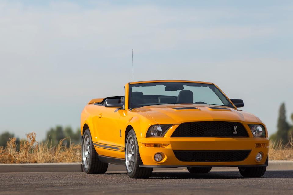 Bonhams : 2007 Ford Shelby GT500 ConvertibleVIN  1ZVHT89S175200005