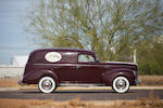 <b>1940 Ford 01A Deluxe Sedan Delivery</b><br />Chassis no. 18-5740418