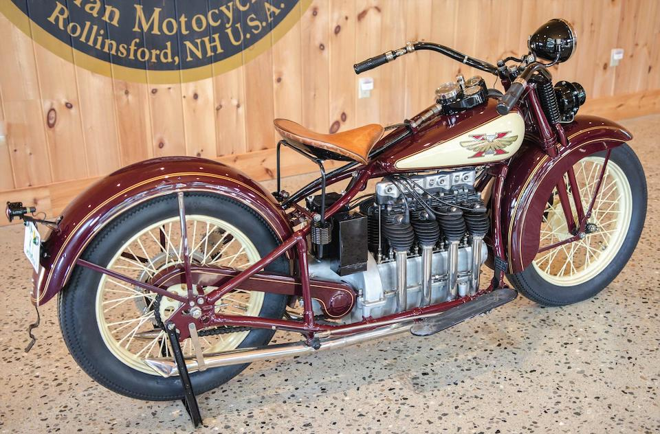 1929 Henderson 1,301cc KJ Four Engine no. KJ-30829