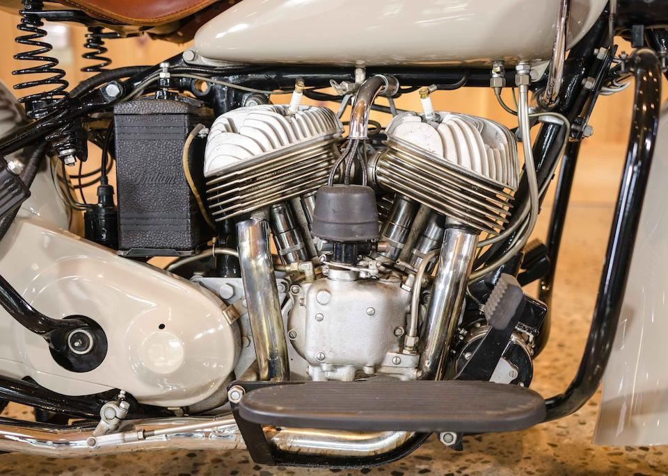 1940 Indian 45ci Sport Scout Engine no. FDO 250