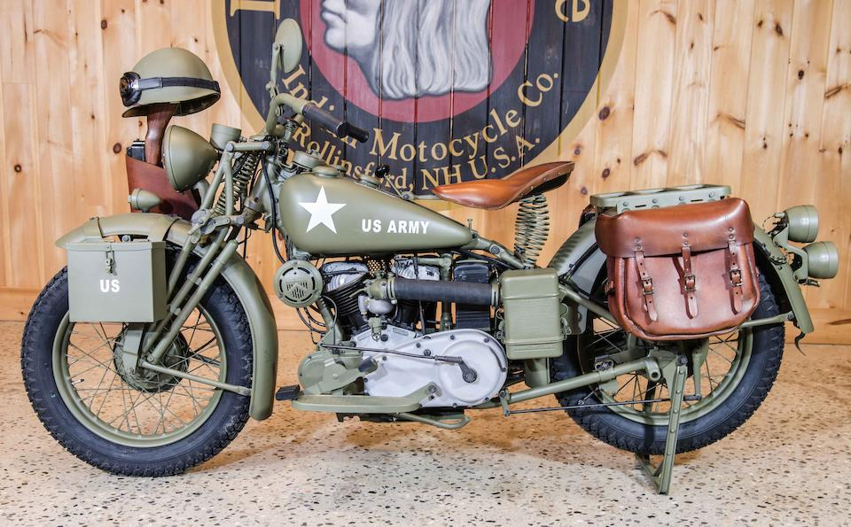 1941 Indian 30ci 741 Scout Military Engine no. GDA32908