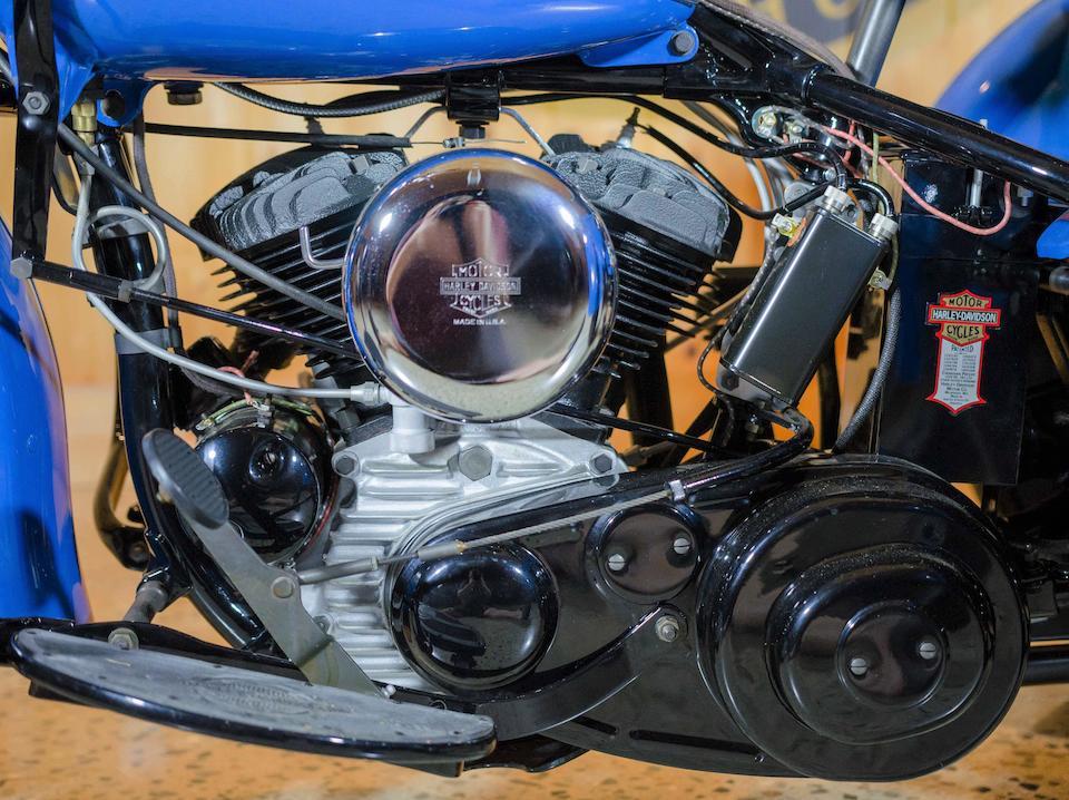 1941 Harley-Davidson Servi-Car Engine no. 41G3372