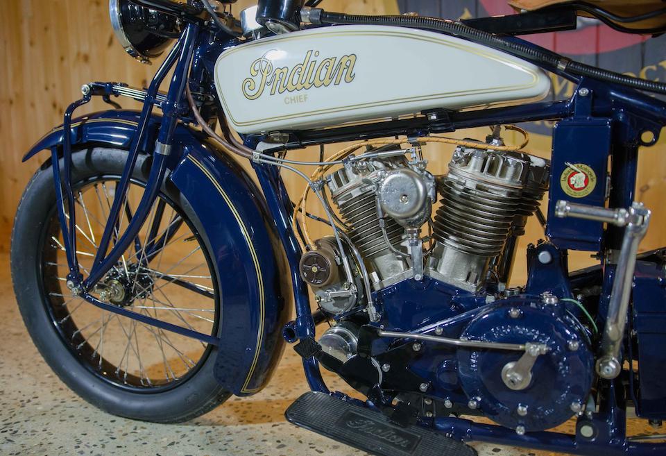 1927 Indian 74ci Big Chief Engine no. BH 1523