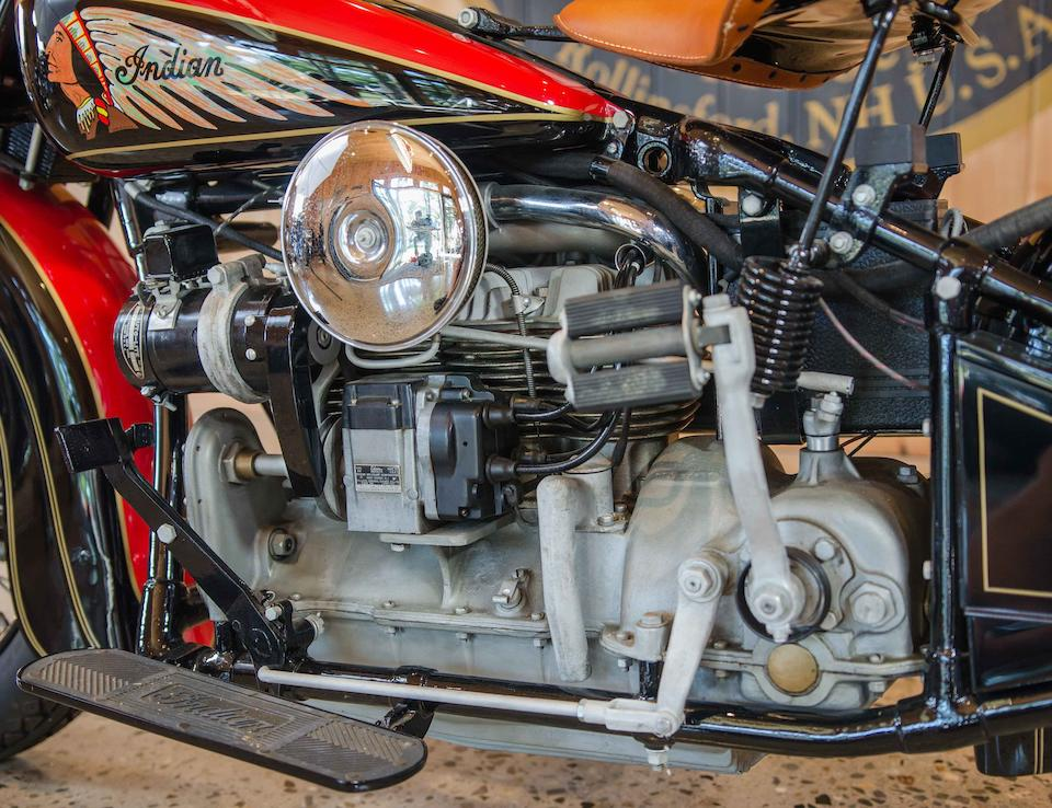 1939 Indian Four World's Fair Engine no. DCI 217B