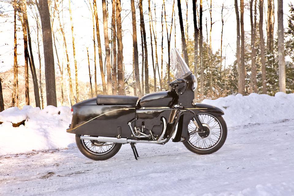 1955 Vincent 998cc Black Prince Frame no. D12508F Engine no. F10AB/2B/10608