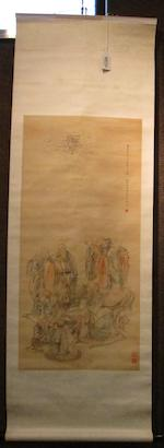 Various Artists (19th/20th century) Two paintings of Buddhist Figures