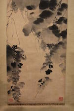 After Xu Wei (19th century)  Grapes