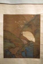 Unknown Artist (19th/20th century) Egret and Stream