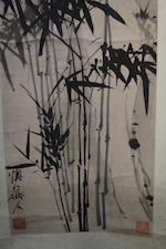 After Li Shan (19th century)  Ink Bamboo