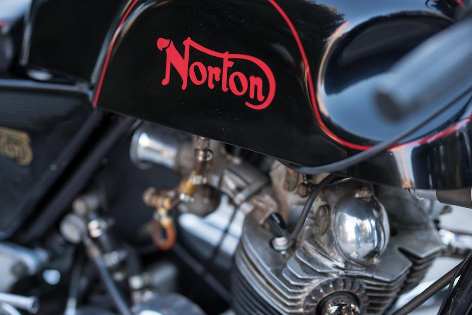 1970 Norton 750cc Commando S Café Racer Frame no. 136121 Engine no. 136121