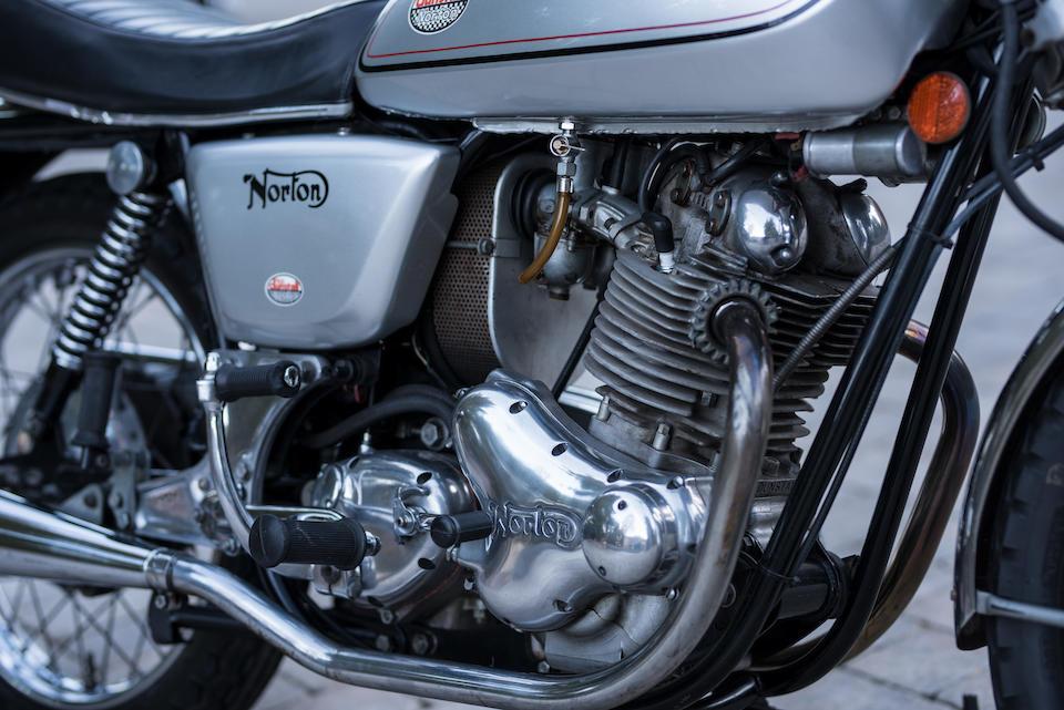 1974 Norton Dunstall 829cc Commando Interstate 'Shadow' Frame no. 212133 Engine no. 212133