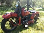 1938 Harley-Davidson 61ci EL 'Knucklehead' Engine no. 38EL3464