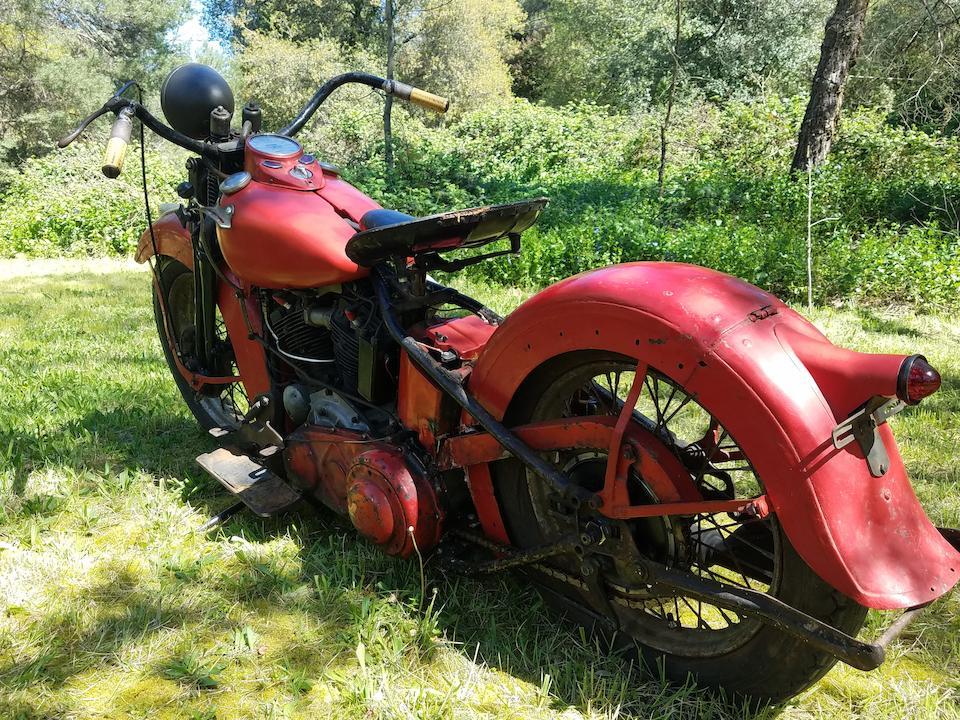 1938 Harley-Davidson 61ci EL 'Knucklehead' Engine no. 38EL3464