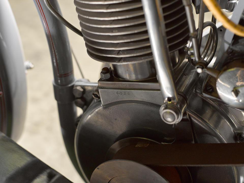 1910 Harley-Davidson Model 6A 30.2ci single Engine no. 6026