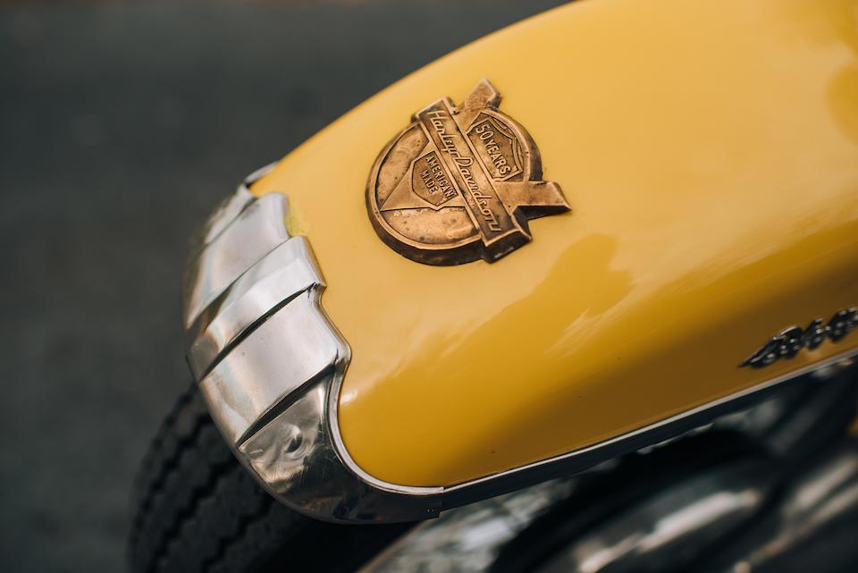 1954 Harley-Davidson 74ci FL Deluxe 50th Anniversary Model Engine no. 54FL2423