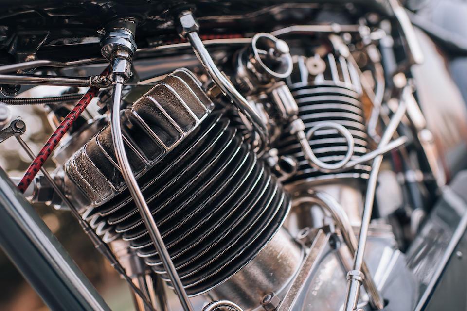 1916 Harley-Davidson Model E Engine no. 5428M