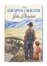 STEINBECK, JOHN. 1902-1968. The Grapes of Wrath. New York: The Viking Press, (1939).